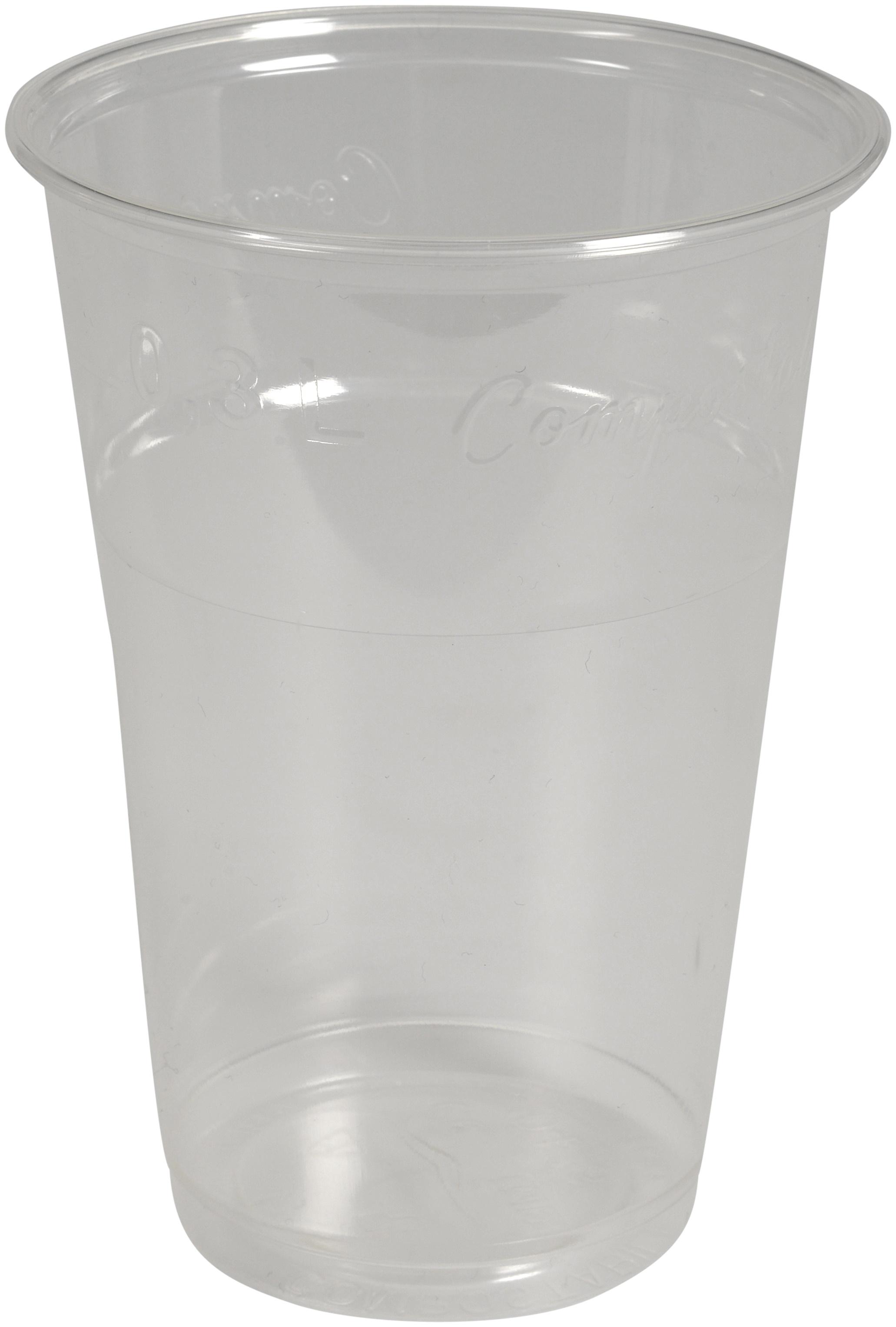 GLAS PLAST TRANSPARENT 20CL POLYPROPYLEN