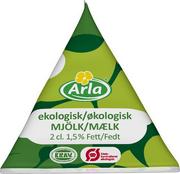 KAFFEMJÖLK ARLA EKOLOGISKT 2CL 100ST/DISPENSERKARTONG