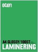LAMINERINGSFICKA A4 2X125MIC KLAR