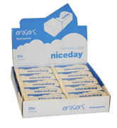 RADERGUMMI NICEDAY 60X21X12MM PVC-FRI