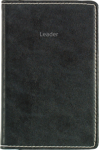 FICKKALENDER LEADER 2020 SVART 83X127MM SPIRALBUNDEN