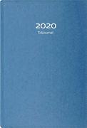 TIDJOURNAL 8-20 2020 BLÅ 180X265MM INBUNDEN
