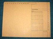 MAPP JOURNALOMSLAG 315X235MM MED TRYCK