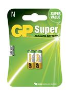 BATTERI 1,5V GP SUPER LR1 2-PACK/BLISTER
