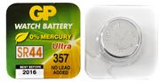 BATTERI 1,5V GP WATCH SR44W 1-PACK/BLISTER KNAPPCELL